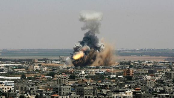 Israel Palestinians Nonstop Rockets-5