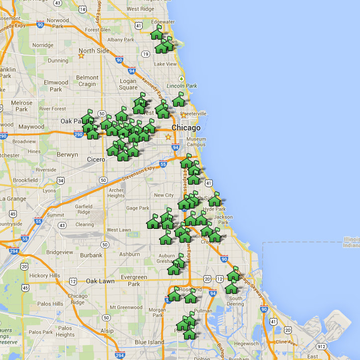 Gun Violence is No Problem in Chicago Maps Prove It The