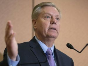 Senator Graham Readies His Hand for the Mention of